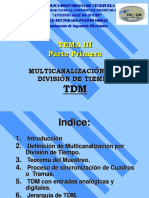Tema 3a Multicanalizacion Tdm