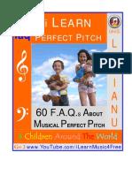 60 FAQs about developing a musical ear, by Juilliard Alumni David Livianu