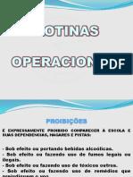 rotinas operacionais