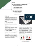 Informe Proyecto Digitales Seguidor de Linea