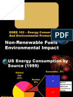 3. Non Renewable Fuels