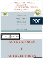 Autovalores y Autovectores