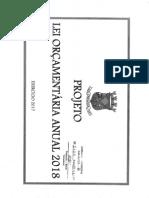 PL312017 - Projeto de Lei Orçamentaria