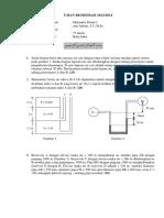 Soal Mekanika Fluida