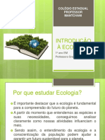 Ecologia (Intoducao)