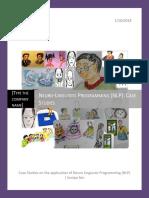 Neuro-LinguisticProgramming-NLP Case Studies
