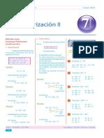 Guía 7 - Factorización II
