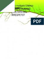 eBook en PDF Cuerpo Humano Cultura Del Irrespeto