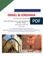 ISRAEL& IORDANIA 04.10, 11.10,   18.10.2018