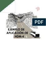 39.0 - Reporte Ejemplo HDM-4 Modificado PDF
