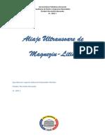 Aliaje Ultrausoare de Magneziu LItiu