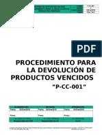 P-cc-001 Pro Dev Productos Ccultimo