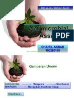 Anti Microbial as Say