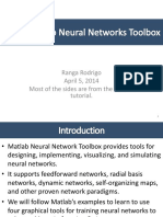 L09 Using Matlab Neural Networks Toolbox