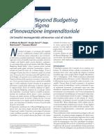 Articolo Beyond Budgeting