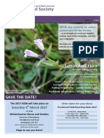B&BC Botanical Society Newsletter - Issue 3 (2016)