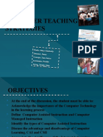 Computer Teaching