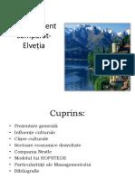 Management Comparat Elveția