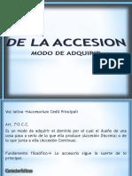 3.La Accesion
