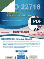 ISO 22716 Aplicación Práctica