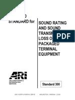 ARI Std 300-2000