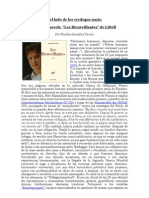 """Verdugos nazis en la Literatura"" por Nicolás González Varela"