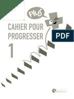 Cahier Pour Progresser 1