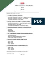 VSAT Installation and Maintenance Training Workbook