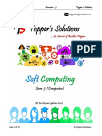 Soft Computing (SC)  Topper Solution