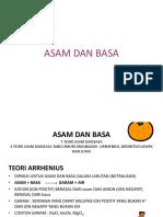 Teori asam basa