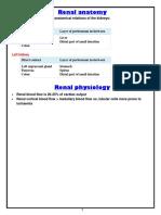 MRCP 2 Nephrology NOTES