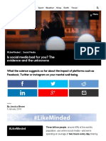 BBC - Future - Is Social Media Bad for You_ the Evidence and the Unknowns