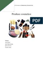 Produse Cosmetice - Raport de Cercetare