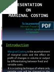 Marginal Costing PPt