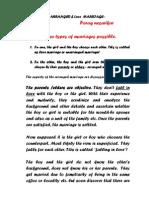 -Arranged-& Love Marriage Views