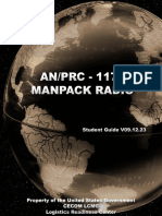An-PRC-117F Manpack Radio - Student Guide v09.12.23
