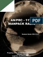 An-PRC-117F Manpack Radio - Student Guide v09.12.23