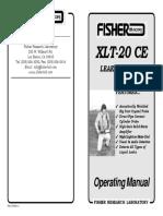 Manual Xlt-20 Ceop