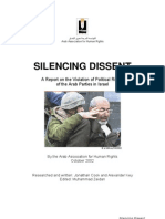 Israeli Arab Knesset Members Humiliation by Israeli Defense Forces and the Government
