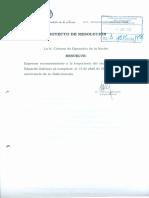 Proyecto de Resolución - Reconocimiento a Eduardo Galeano