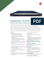 CableVista CV1100 Data Sheet.pdf