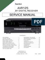 AVR125 Service Manual