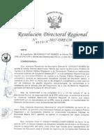 RDR N 002911 Conformacion Del Comite de Vigilancia de Los Concursos Publicos 2017