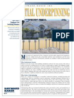 2014 - Hayward Baker - Residential Underpinning Brochure
