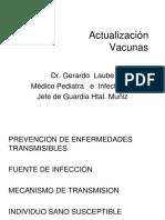 Actualización Vacunas 2016 LAUBE