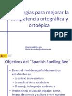 Deletrear en Espanol 2011