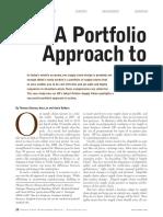 A Portfolio Approach to SCM