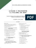 2009 Castellano09 Carta Pastoral