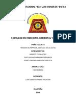 Informe Final de La Tensión Superficial