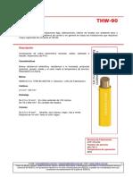 Tablas de Datos Tecnicos THW-90 (Mm2)